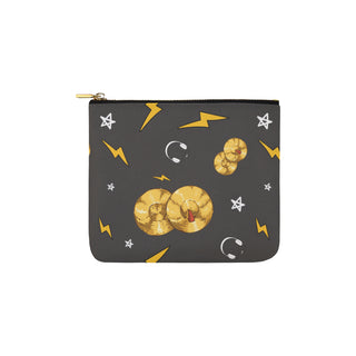 Cymbals Pattern Carry-All Pouch 6''x5'' - TeeAmazing