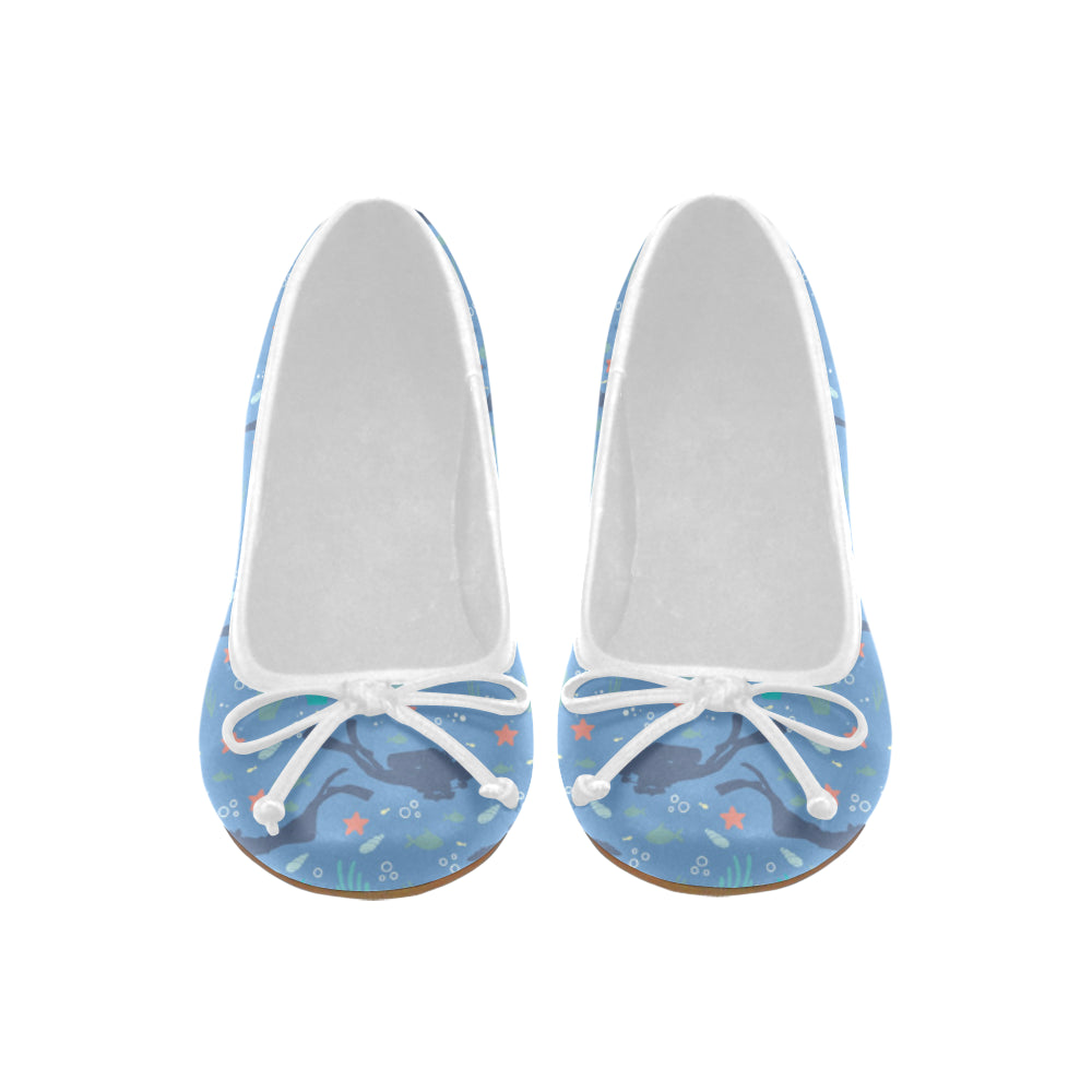 Scuba Diving Pattern Juno Ballet Pumps - TeeAmazing