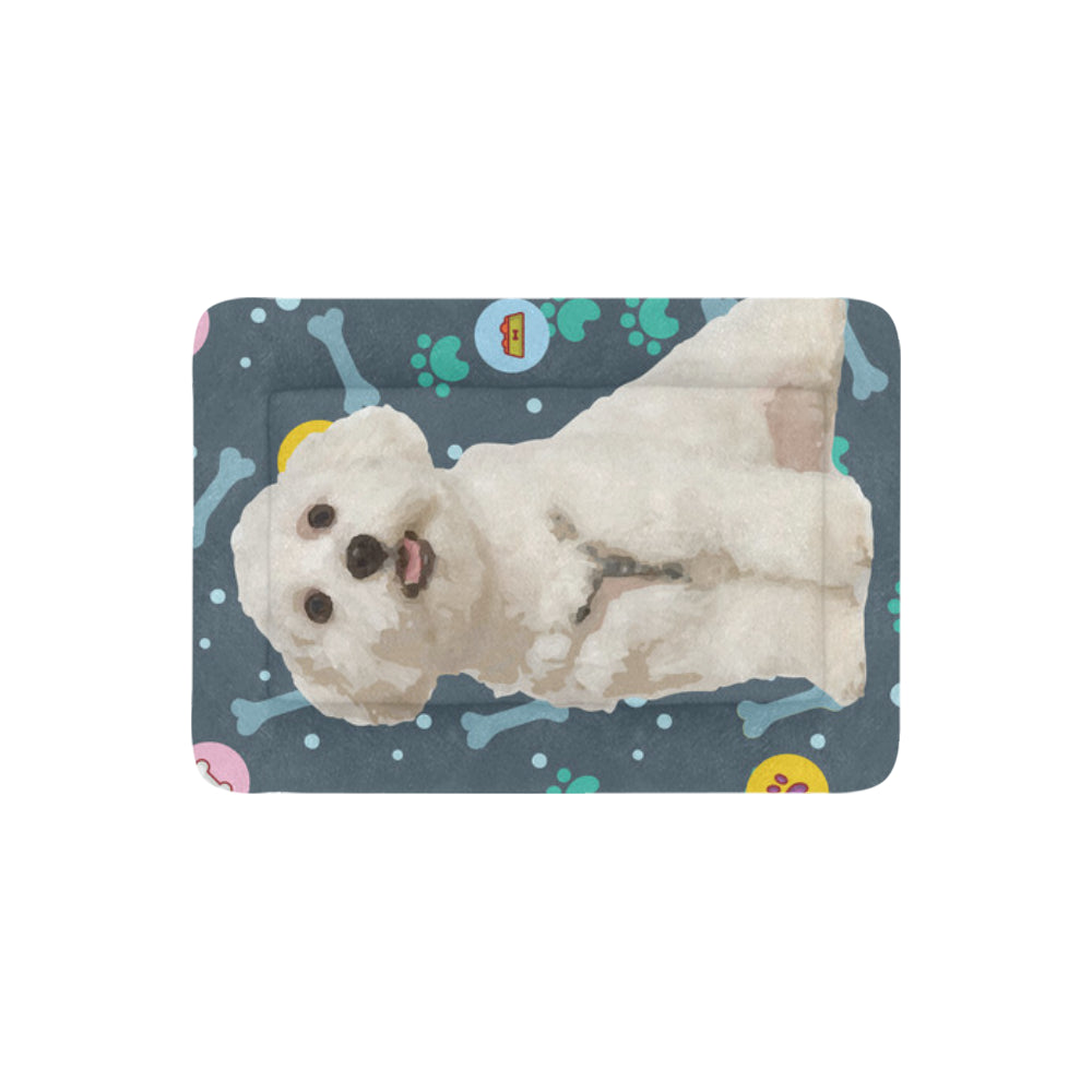 "Maltese Dog Beds 30""x21"" - TeeAmazing"