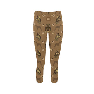 Doberman Capri Legging - TeeAmazing