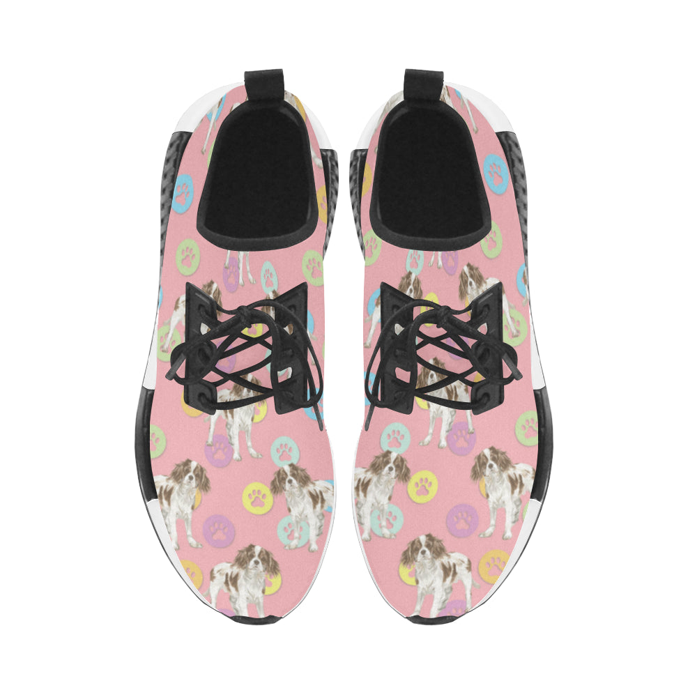 Cavalier King Charles Spaniel Water Colour Pattern No.1 Women's Draco Running Shoes - TeeAmazing