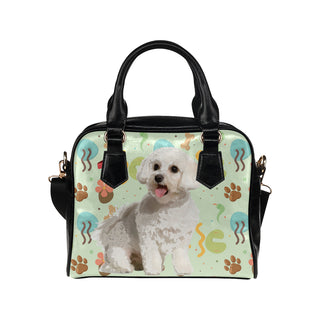 Maltipoo Shoulder Handbag - TeeAmazing