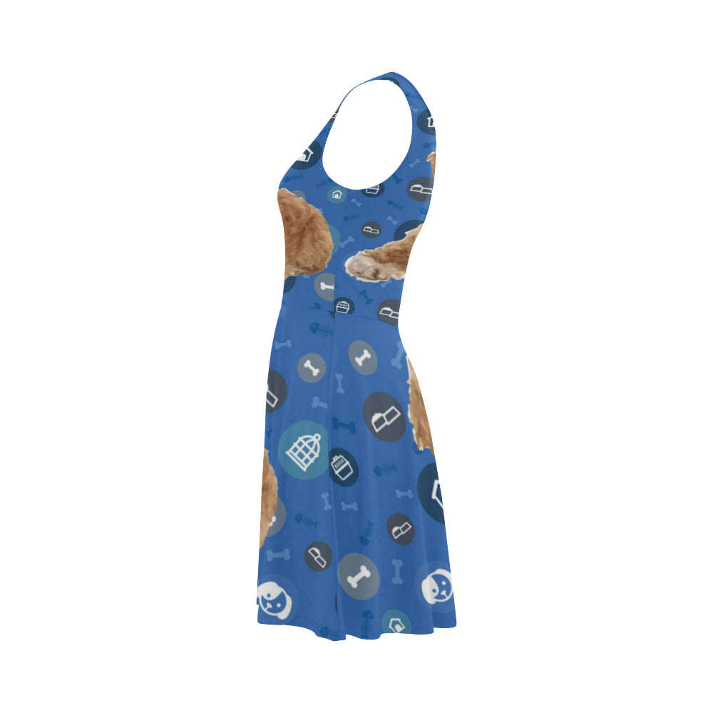Cavapoo Dog Atalanta Sundress - TeeAmazing