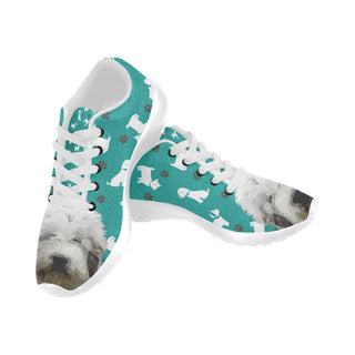 Mioritic Shepherd Dog White Sneakers for Men - TeeAmazing