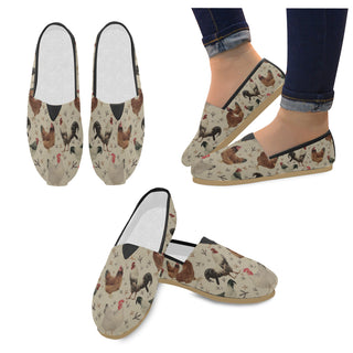 Chicken Women's Casual Shoes - TeeAmazing