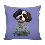 Shih Tzu Dog Pillow Cover - Shih Tzu Accessories - TeeAmazing - 4