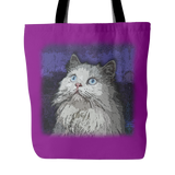 Persian Cat Tote Bags - Persian Terrier Bags - TeeAmazing - 4