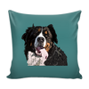 Bernese Mountain Dog Pillow Cover - Bernese Mountain Accessories - TeeAmazing - 3
