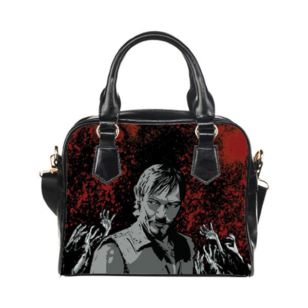 Daryl Dixon Purse & Handbags - The Walking Dead Bags - TeeAmazing