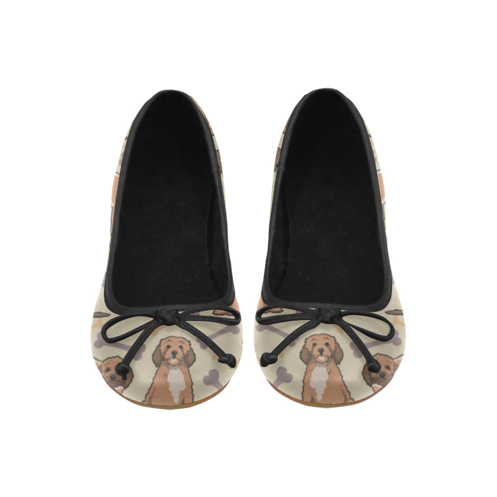 Cockapoo Juno Ballet Pumps - TeeAmazing
