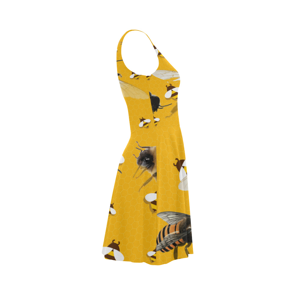 Bee Lover Atalanta Sundress - TeeAmazing