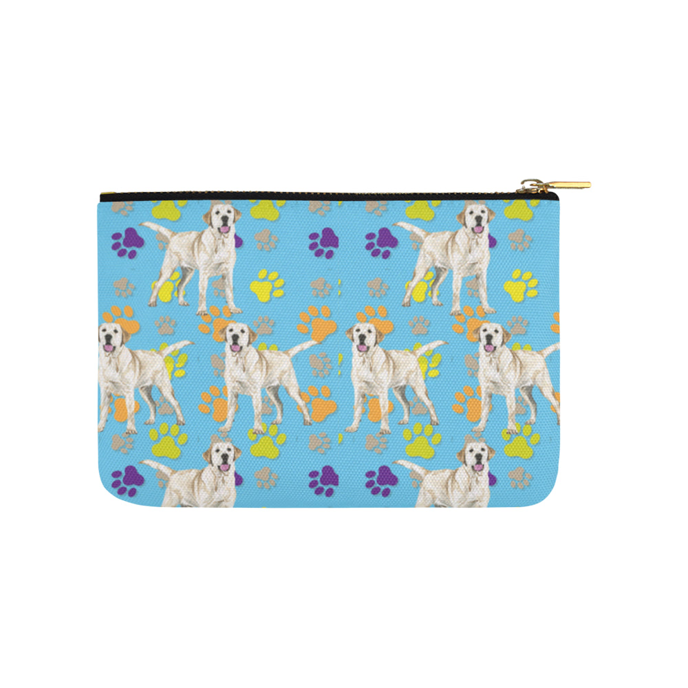 Labrador Retriever Water Colour Pattern No.1 Carry-All Pouch 9.5x6 - TeeAmazing