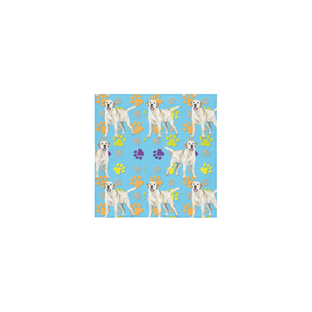 Labrador Retriever Water Colour Pattern No.1 Square Towel 13x13 - TeeAmazing