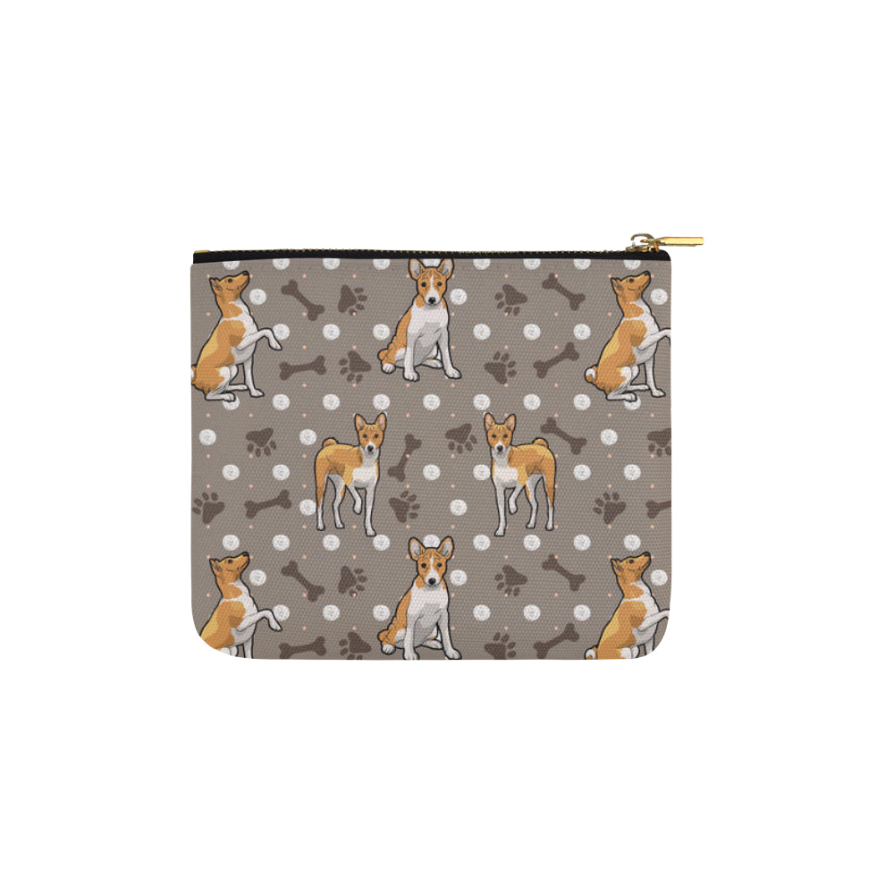 Basenji Carry-All Pouch 6x5 - TeeAmazing