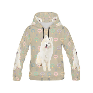 American Eskimo Dog All Over Print Hoodie for Men - TeeAmazing