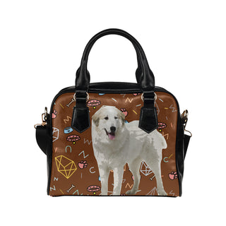 Great Pyrenees Dog Shoulder Handbag - TeeAmazing