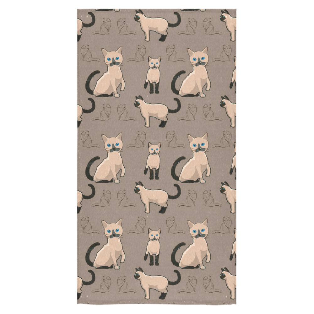"Tonkinese Cat Bath Towel 30""x56"" - TeeAmazing"