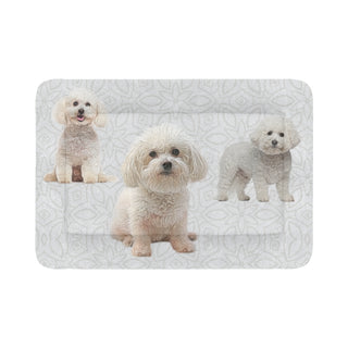 "Bichon Frise Lover Dog Beds 54""x37"" - TeeAmazing"