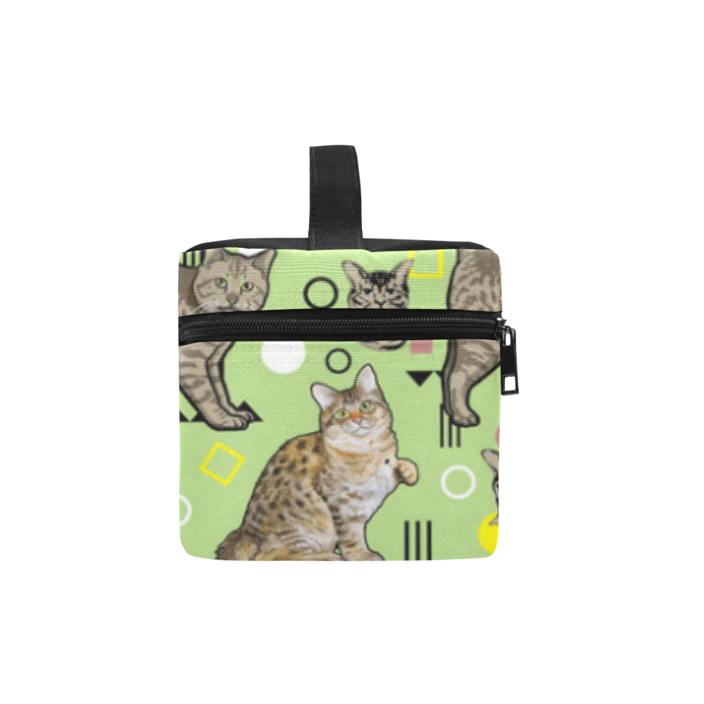 American Bobtail Cosmetic Bag/Large - TeeAmazing