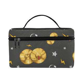 Cymbals Pattern Cosmetic Bag/Large (Model 1658) - TeeAmazing