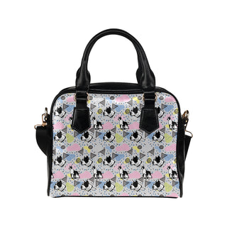 American Staffordshire Terrier Pattern Shoulder Handbag - TeeAmazing