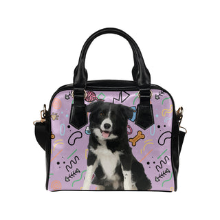 Border Collie Shoulder Handbag - TeeAmazing