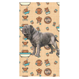 "Neapolitan Mastiff Dog Bath Towel 30""x56"" - TeeAmazing"