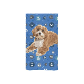 "Cavapoo Dog Custom Towel 16""x28"" - TeeAmazing"