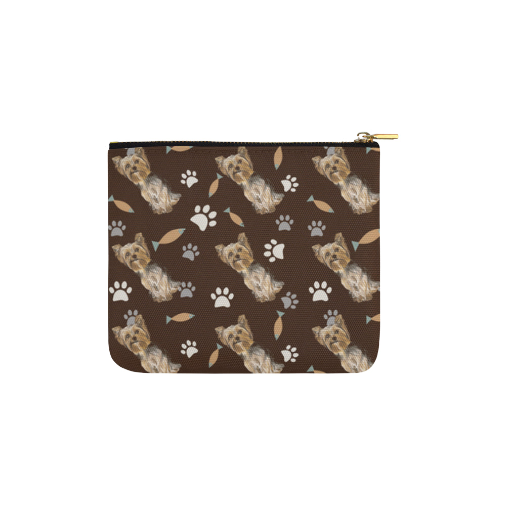 Yorkshire Terrier Water Colour Pattern No.1 Carry-All Pouch 6x5 - TeeAmazing
