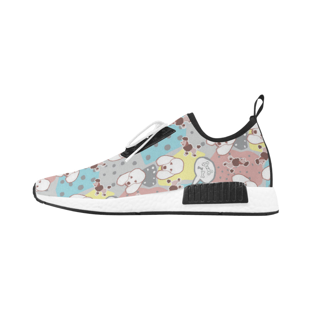 Poodle Pattern Women's Draco Running Shoes - TeeAmazing