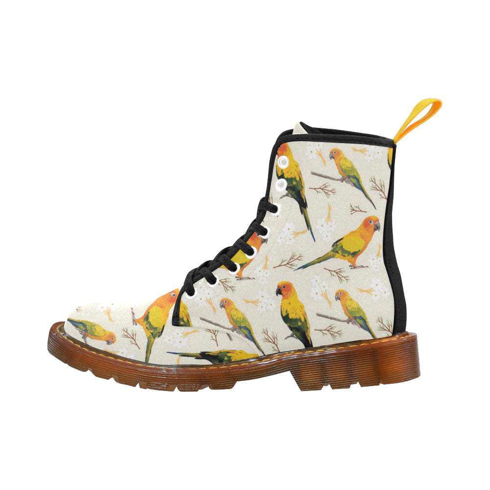 Conures Black Boots For Men - TeeAmazing