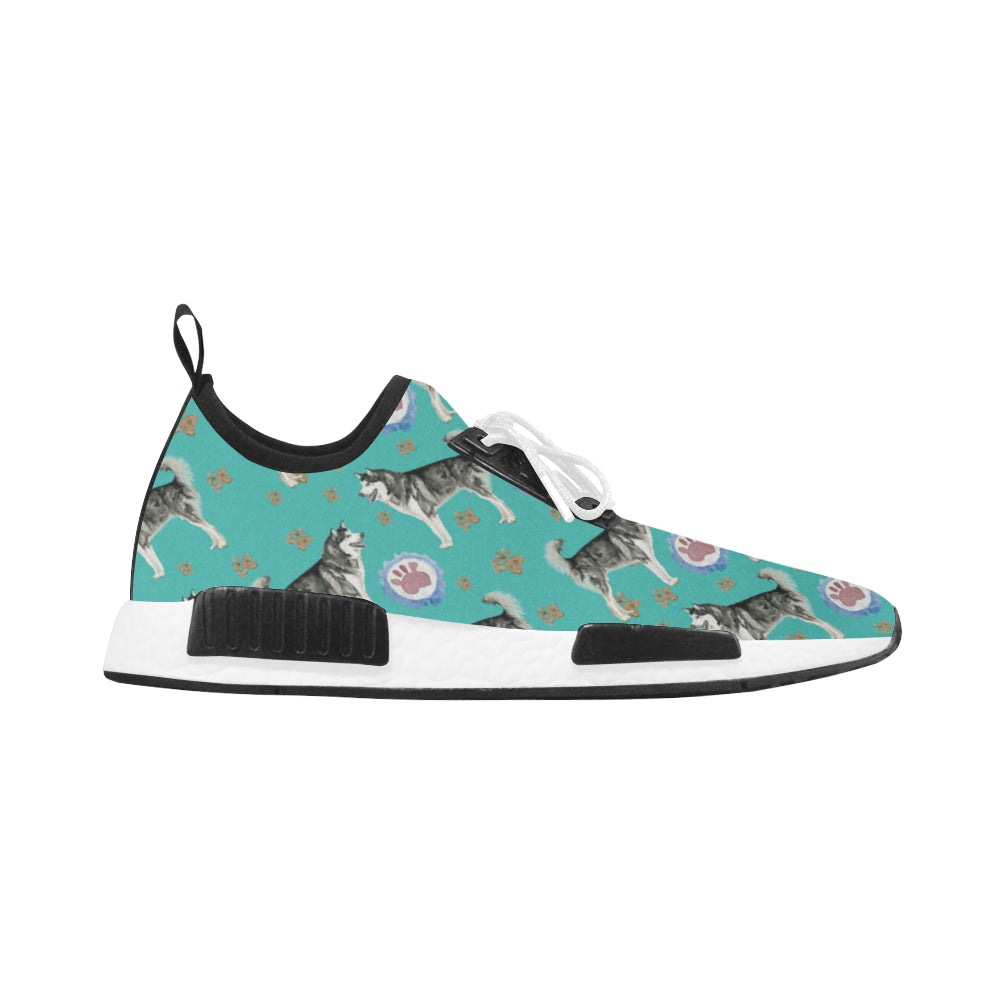 Alaskan Malamute Water Colour Pattern No.1 Women's Draco Running Shoes - TeeAmazing