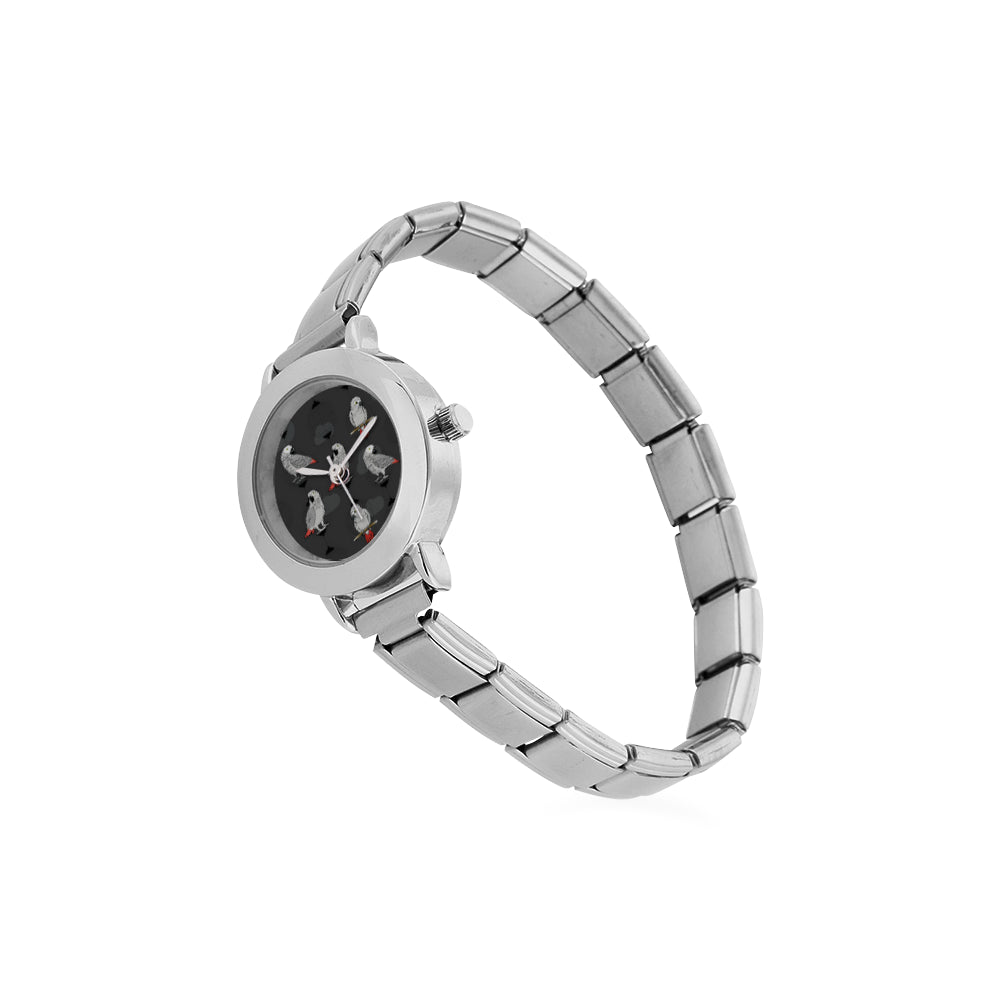 African Greys Women's Italian Charm Watch - TeeAmazing