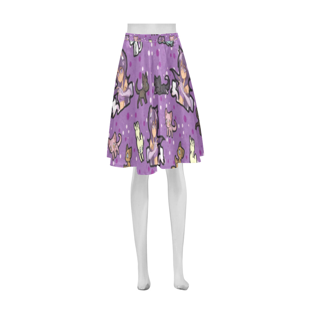Aphmau Athena Women's Short Skirt - TeeAmazing