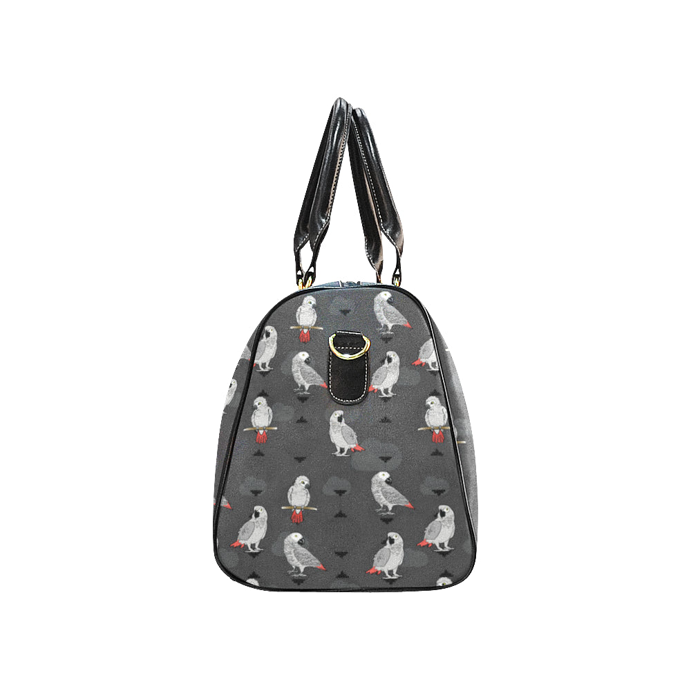 African Greys New Waterproof Travel Bag/Large - TeeAmazing