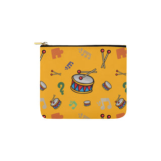 Bass Drum Pattern Carry-All Pouch 6x5 - TeeAmazing