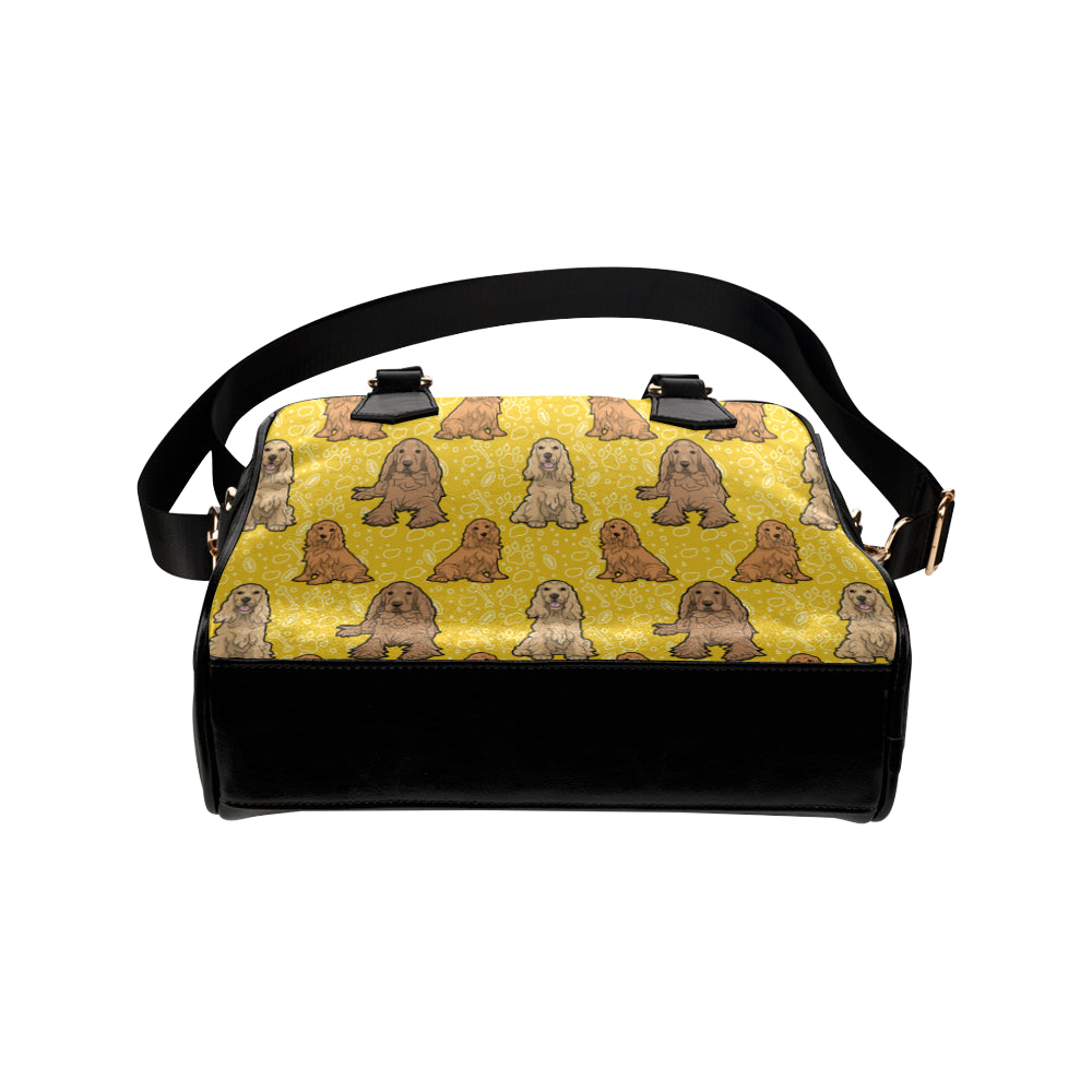 Cocker Spaniel Shoulder Handbag - TeeAmazing
