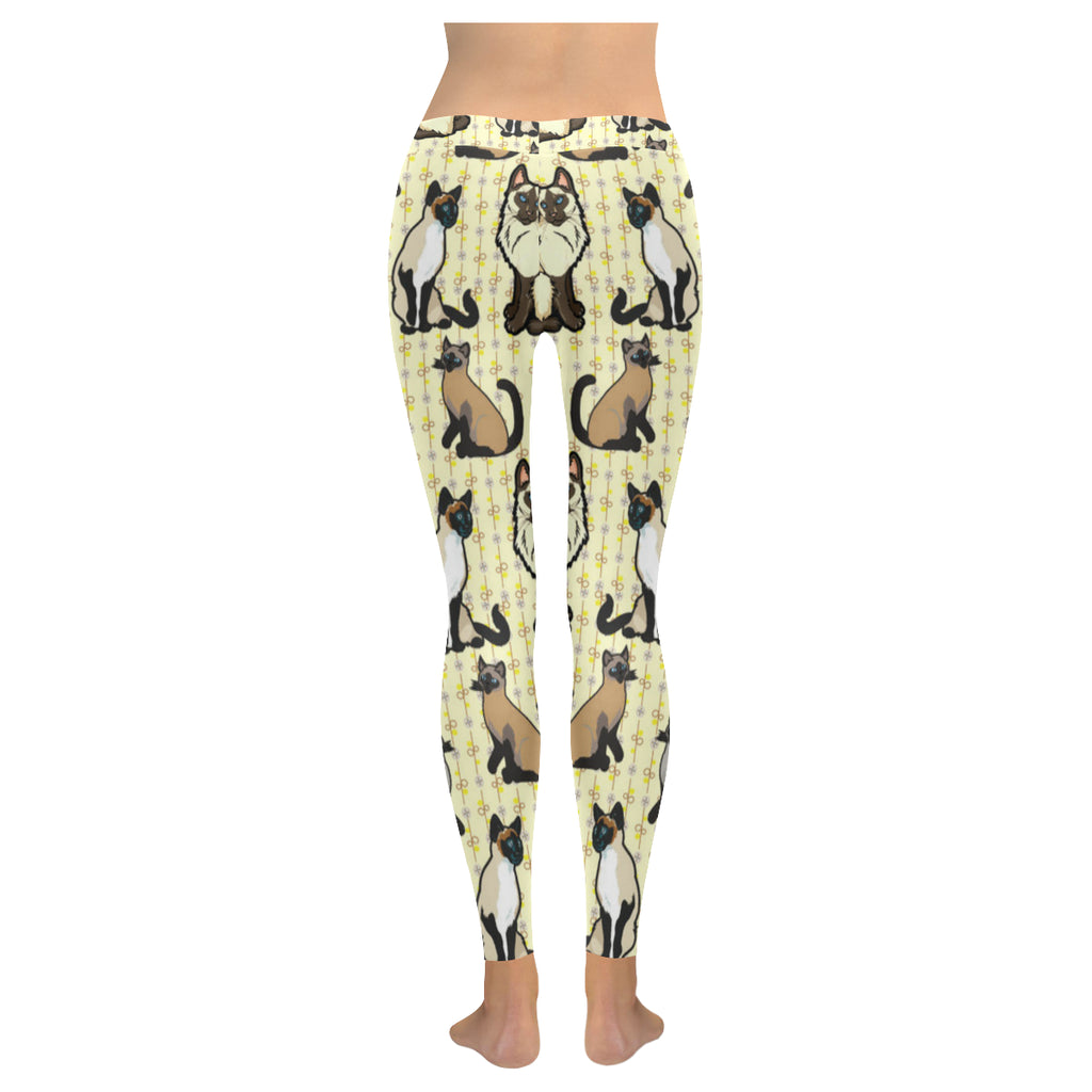 Siamese Low Rise Leggings (Model L05) - TeeAmazing