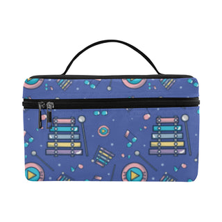 Marimba Pattern Cosmetic Bag/Large - TeeAmazing