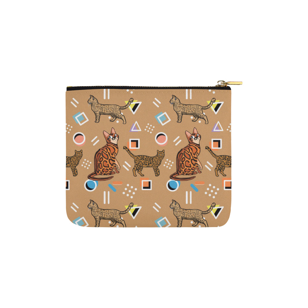 Bengal Cat Carry-All Pouch 6x5 - TeeAmazing