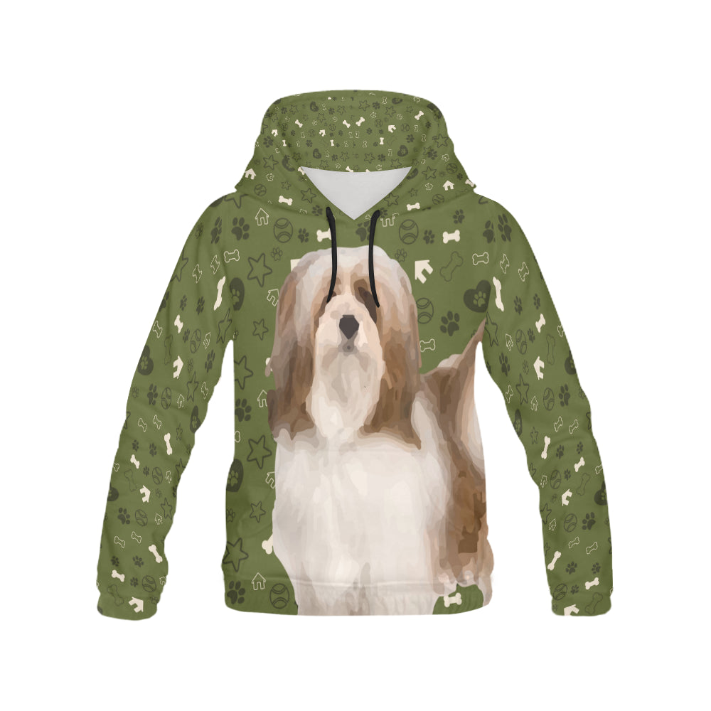 Lhasa Apso Dog All Over Print Hoodie for Men - TeeAmazing