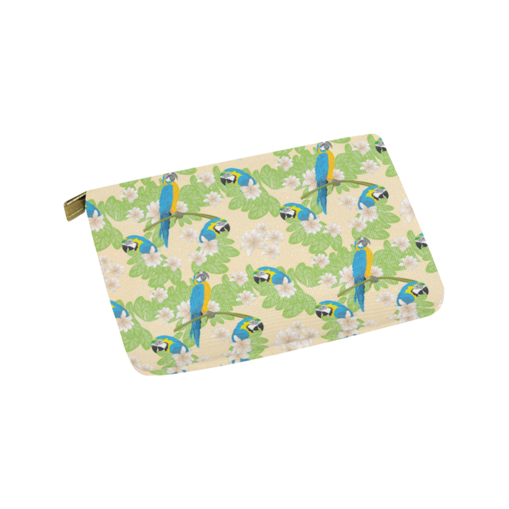 Macaws Carry-All Pouch 9.5x6 - TeeAmazing