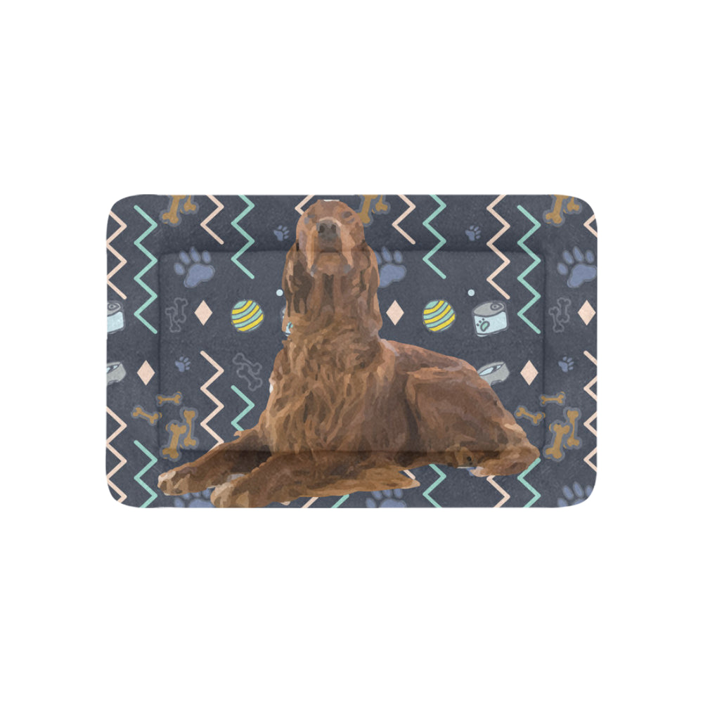 "Irish Setter Dog Dog Beds 36""x23"" - TeeAmazing"