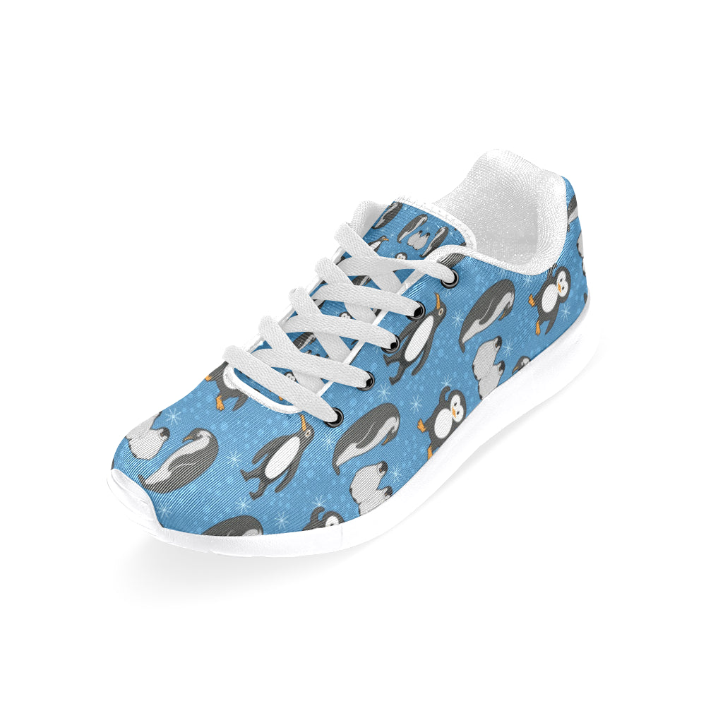 Penguin White Sneakers Size 13-15 for Men - TeeAmazing