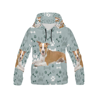 American Staffordshire Terrier All Over Print Hoodie for Women - TeeAmazing