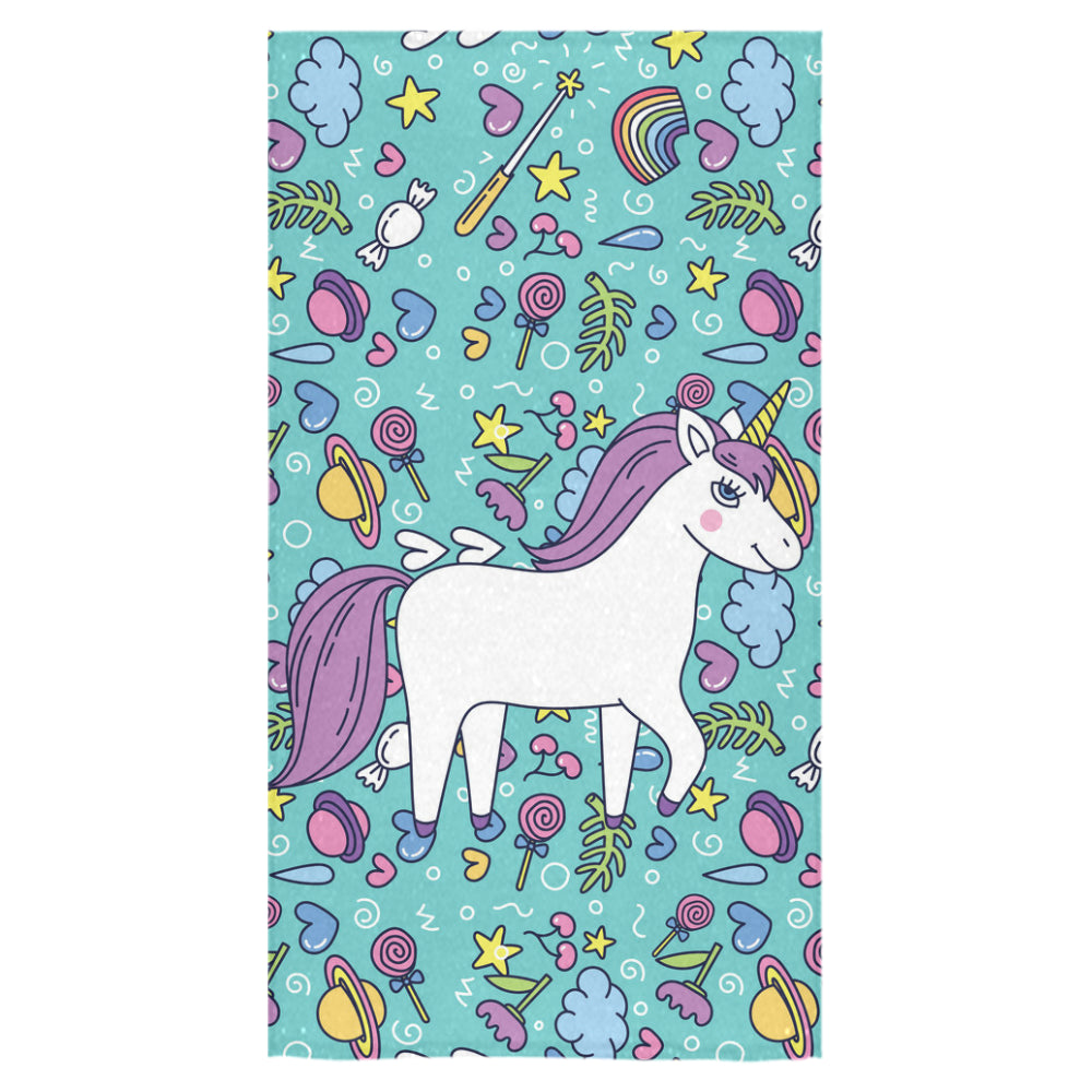 "Unicorn Bath Towel 30""x56"" - TeeAmazing"