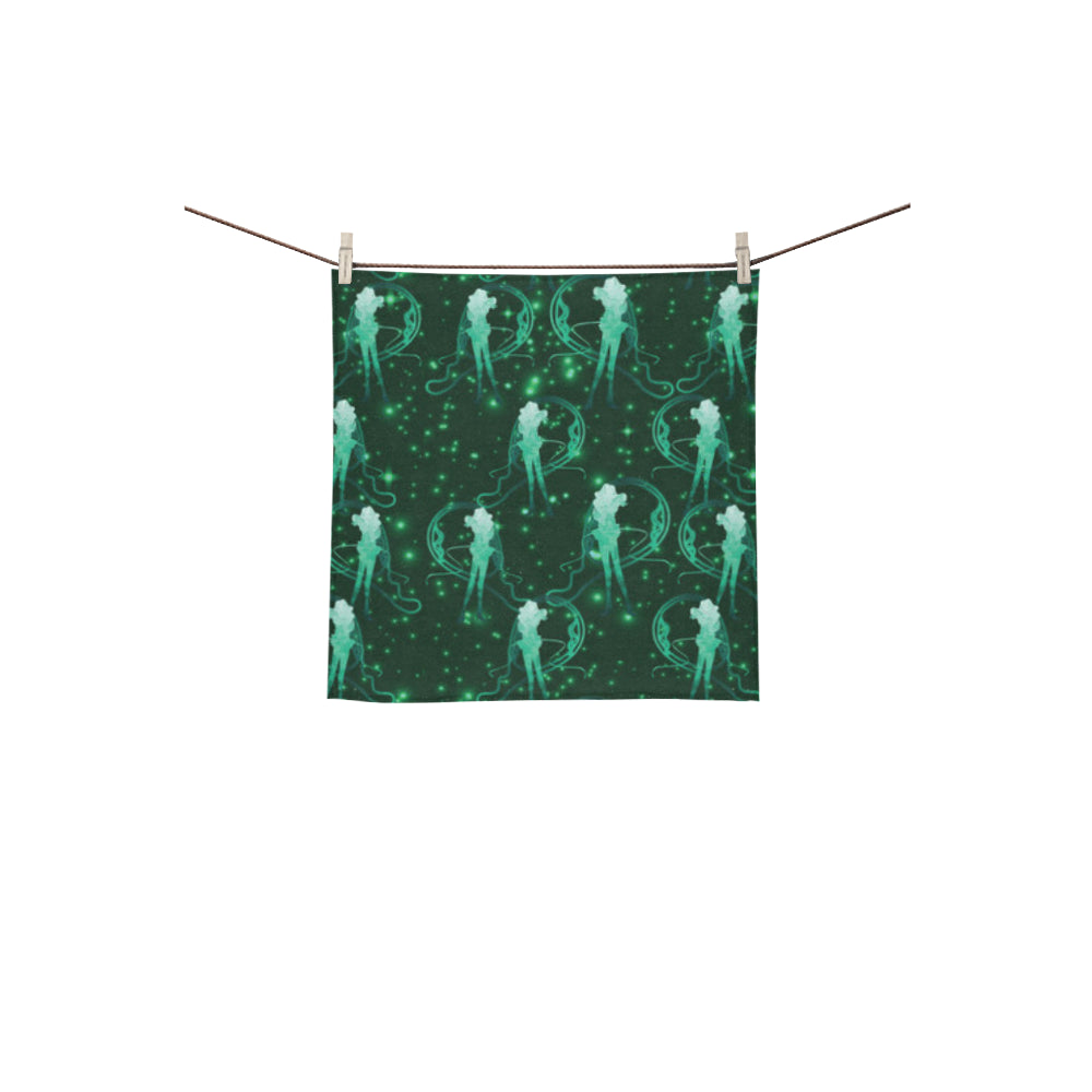 Sailor Neptune Square Towel 13x13 - TeeAmazing