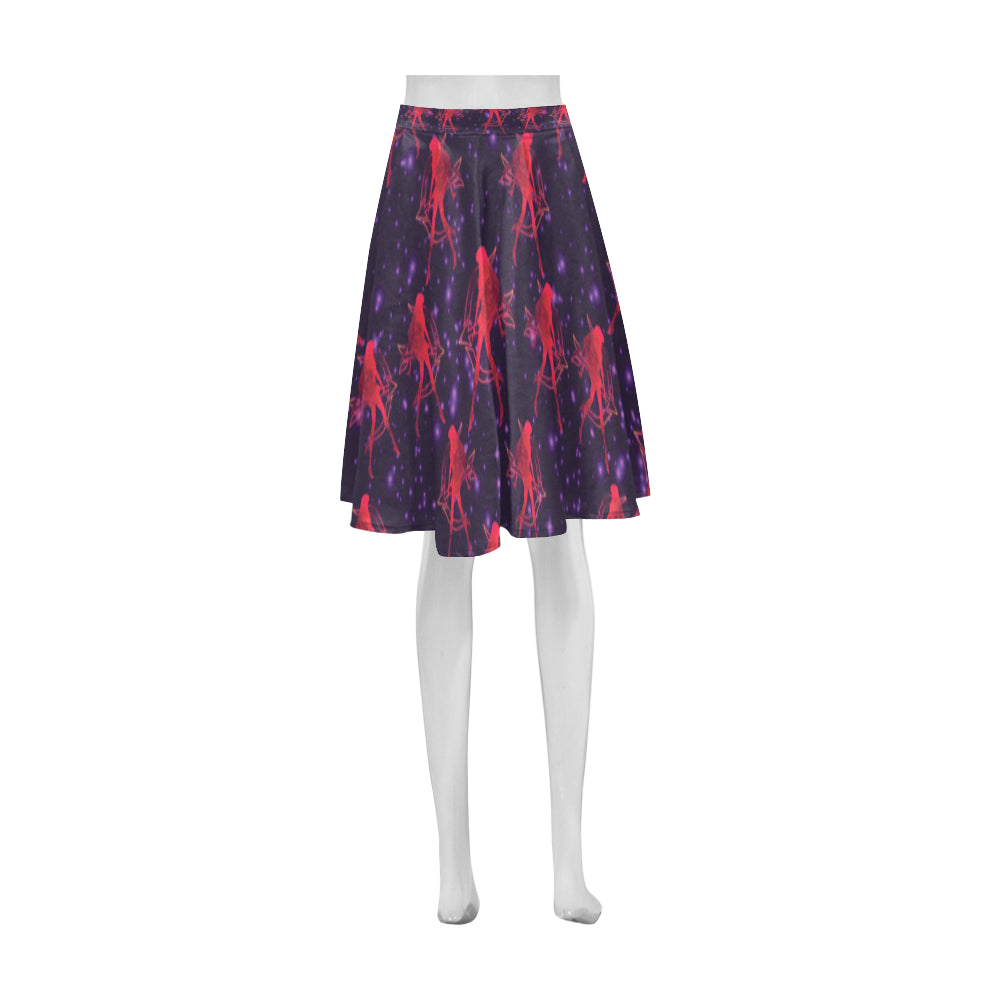 Sailor Mars Athena Women's Short Skirt - TeeAmazing