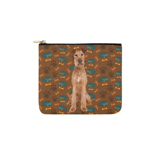 Irish Terrier Dog Carry-All Pouch 6''x5'' - TeeAmazing