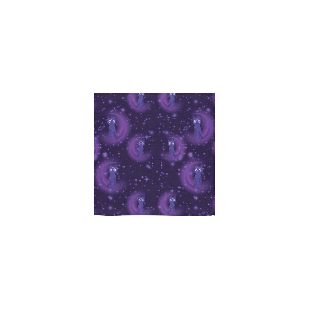Luna Pattern Square Towel 13x13 - TeeAmazing